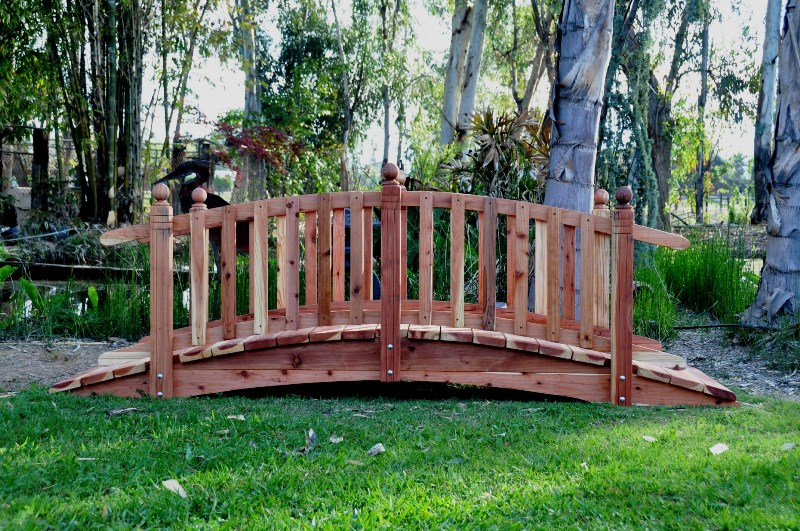 10 feet garden bridges