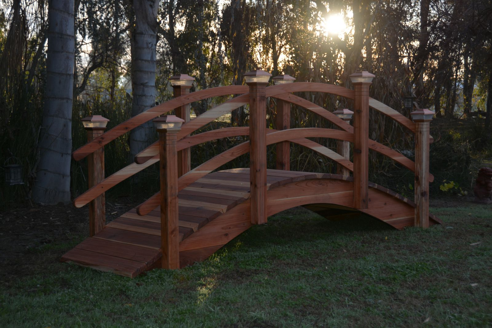 11ft 14 inch garden bridges