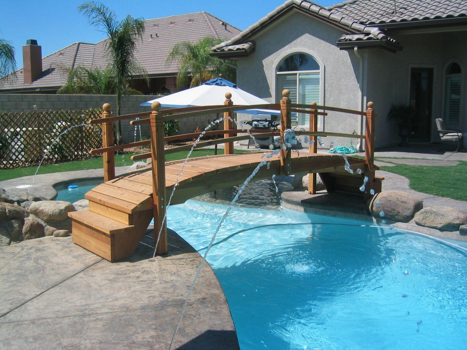 Pool Bridges or Step Bridges