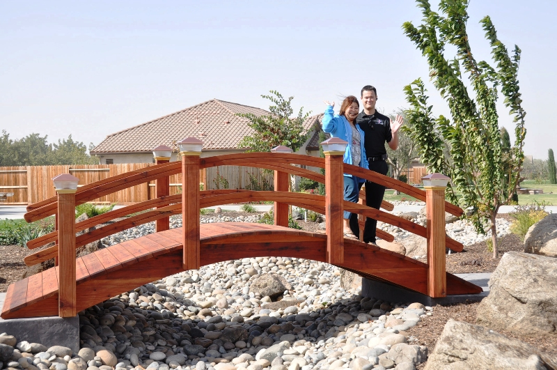 16 feet garden bridges