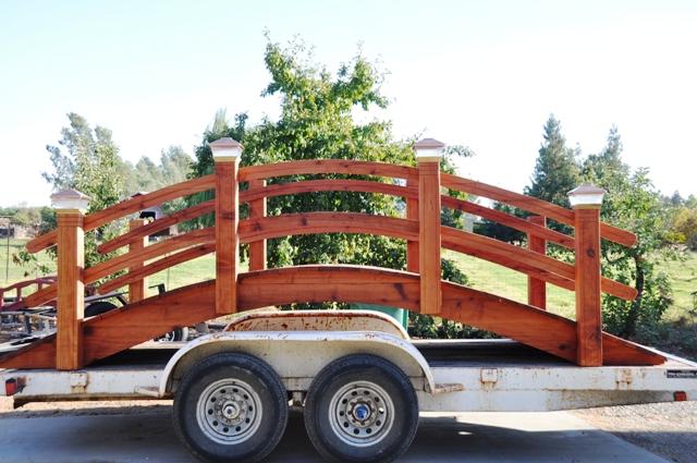 16 fteer garden bridges