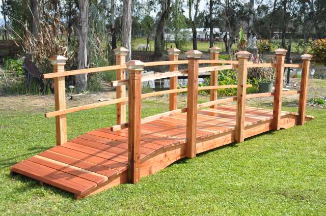 2ft pedestrian garden bridges
