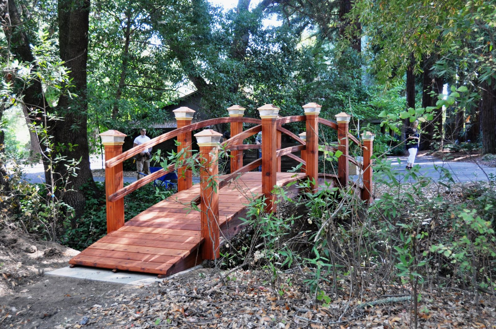 24ft garden bridges