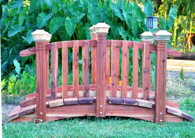 6feet garden bridges