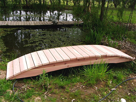 Garden bridges plans – Handcrafted Redwood Garden Bridges for Koi ...