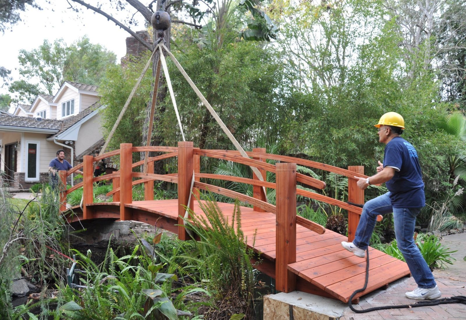 Garden bridge 1
