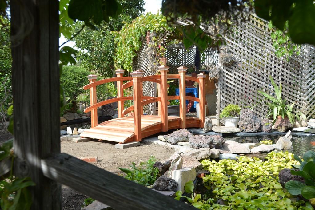 Garden bridge 3