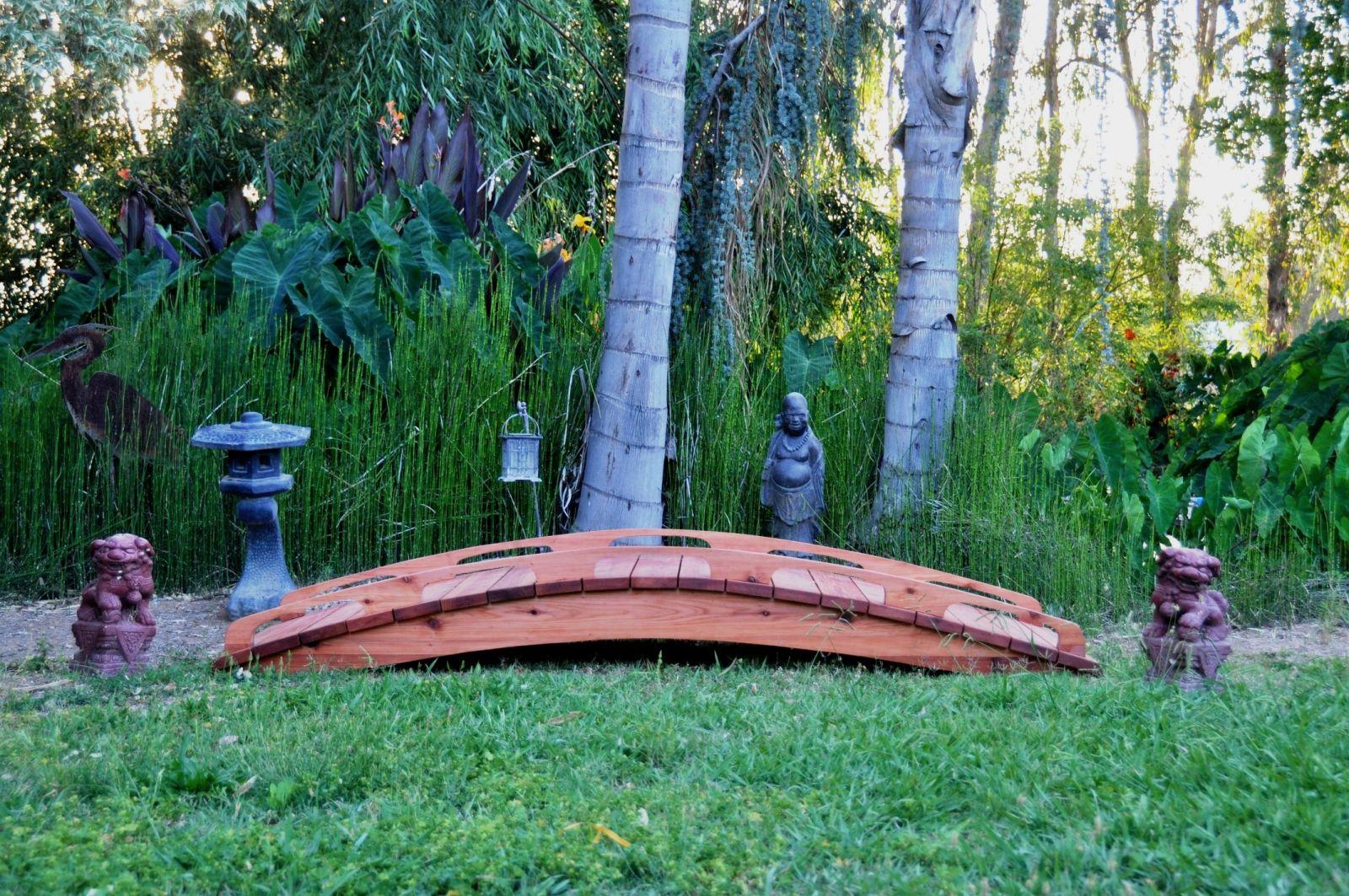 Delicieux Redwood Garden Bridges   Worlds Best In Design And Craftsmanship ! Japanese Garden  Bridges 4 20ft