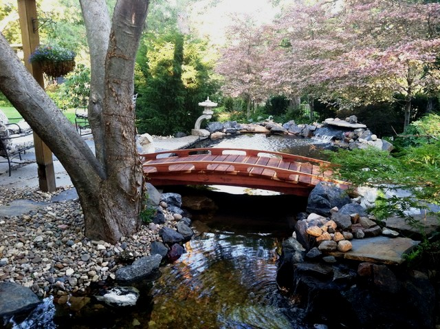 Merveilleux Redwood Garden Bridges   Voted Best In Design And Craftsmanship ! Japanese  Garden Bridges 4 20ft