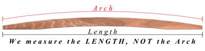 Span measurement of redwood garden bridges