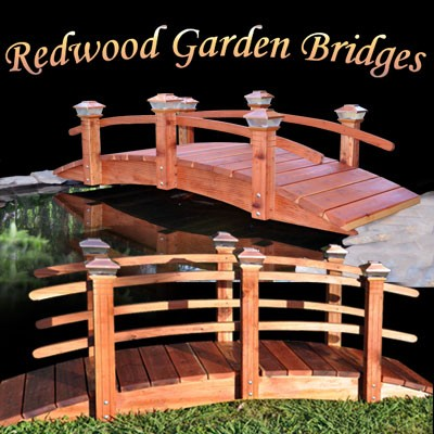redwood garden bridges redwood garden bridges