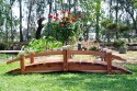 12 Foot Short Post Garden Bridges