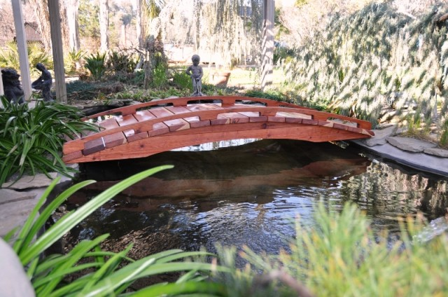 10 foot Japanese Garden Bridges