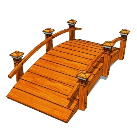 Garden Bridges Plans Handcrafted Redwood Garden Bridges For Koi Ponds 559 325 2597