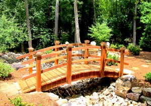 12 Foot Curved Rail Bridges
