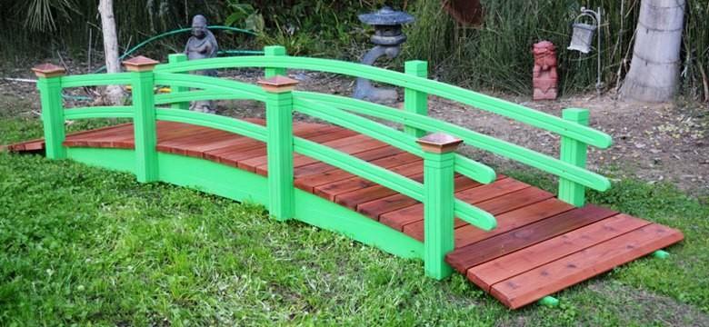 Redwood Garden Bridges Exquisitely Designed Garden Bridges