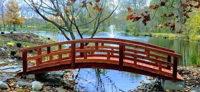 Redwood Garden Bridges Custom Garden Bridges For All Your Needs Redwood Garden Bridges