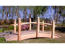 8 foot Single rail very big seller, fits most landscaping needs.