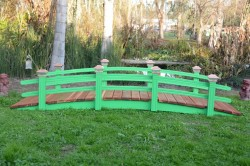Here is one the 3 we are building Called a (Monet Bridge) they will be shipped to P.A