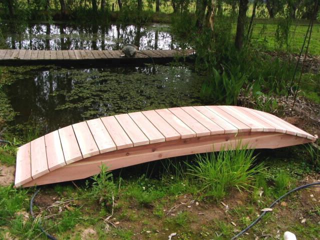 No post bridges photo gallery for Fish pond bridges